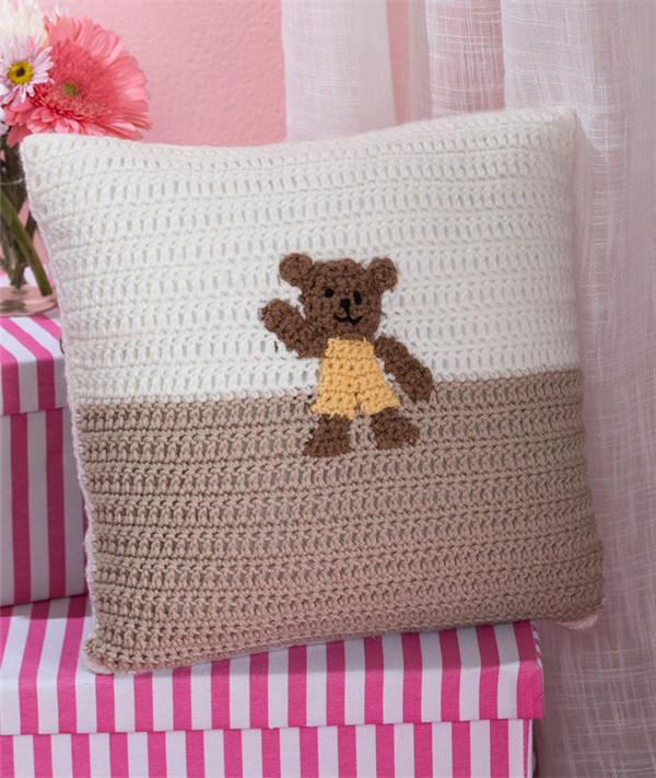 钩针编织——抱枕