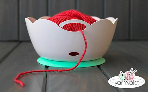 橡胶毛线碗