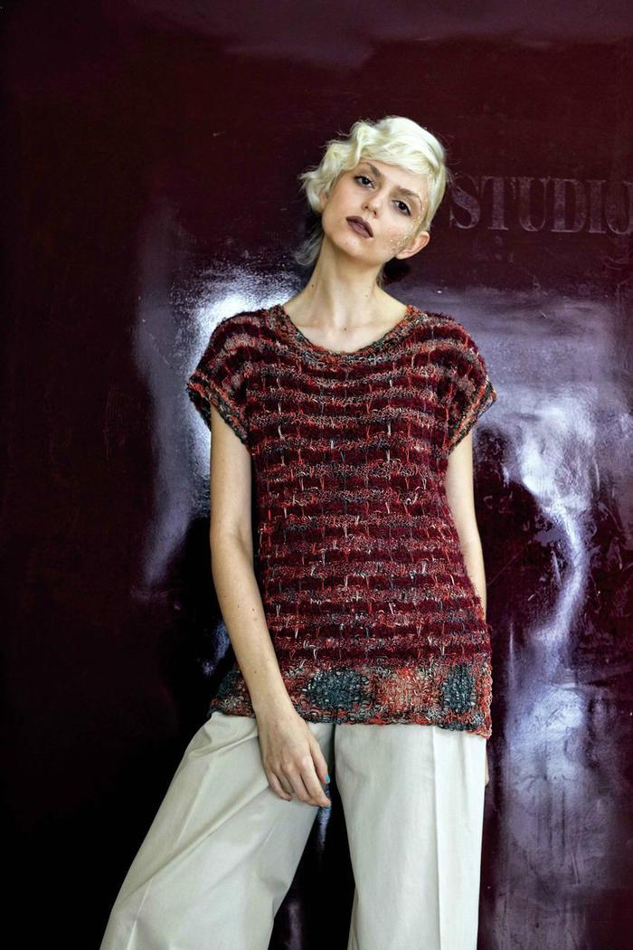 手编织女士短袖款