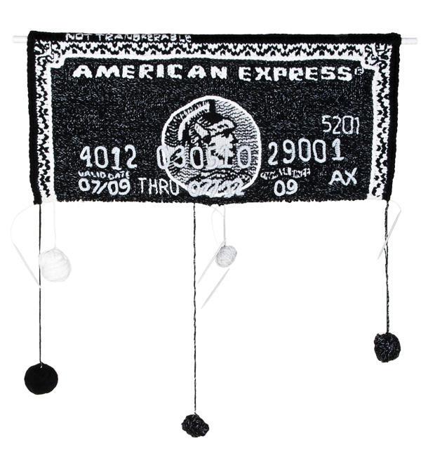 毛线编织银行卡