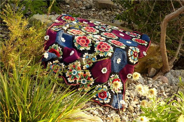 弗里达拼花毯