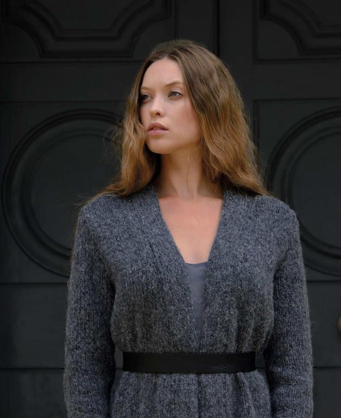 Kim Hargreaves2017秋冬女士棒针服饰设计集《GREY》