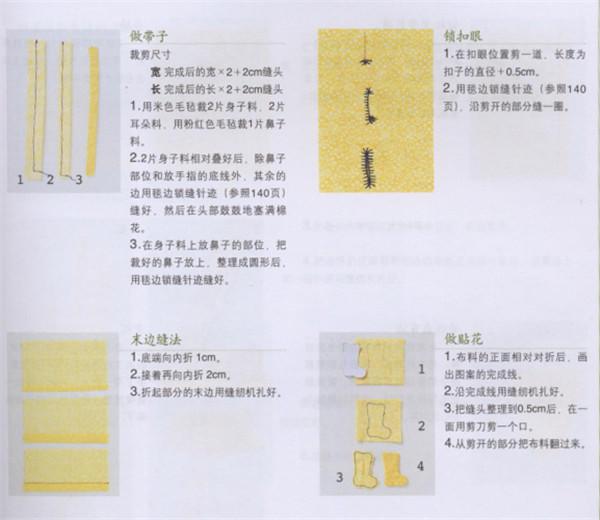 剪裁和缝纫的基本方法介绍