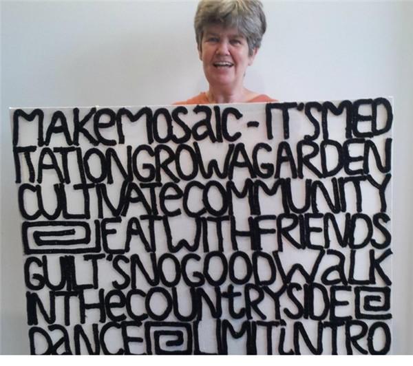 创意钩针编织字母