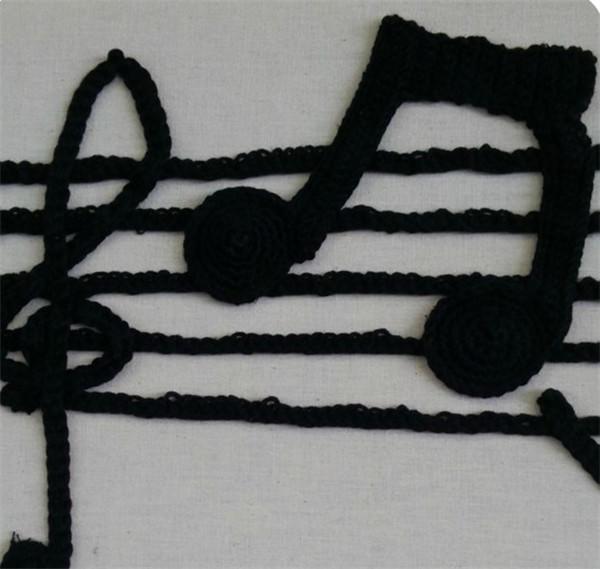毛线钩编装饰画