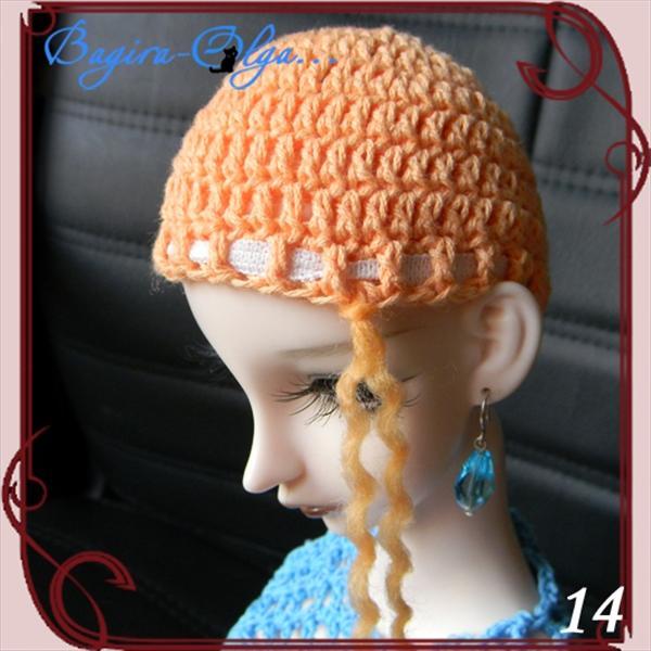 超详细步骤图教你用毛线制作假发