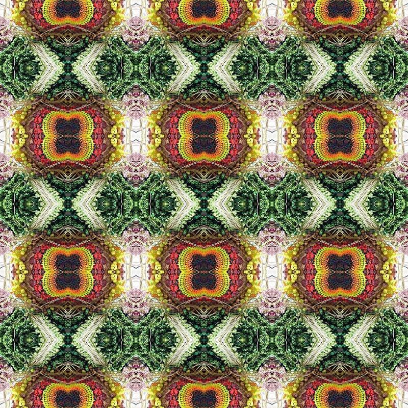 缝纫线艺术编织