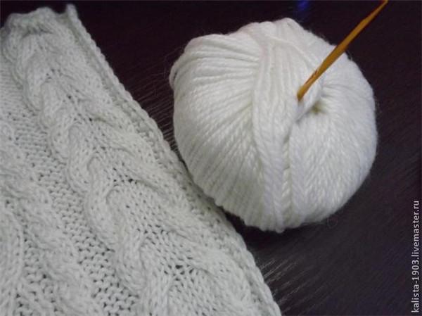 可以做围巾毯子等织物花边的萌球球流苏花样钩法教程