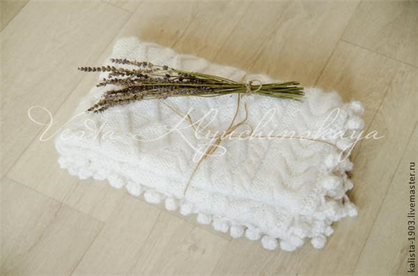 毛线编织宝宝毯