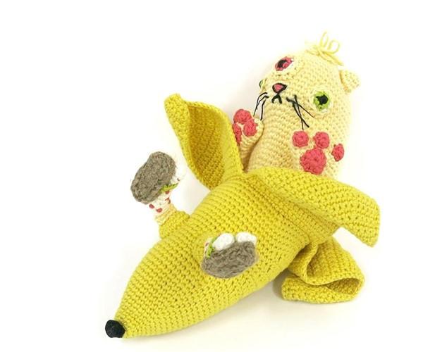 毛线创意搞怪编织物