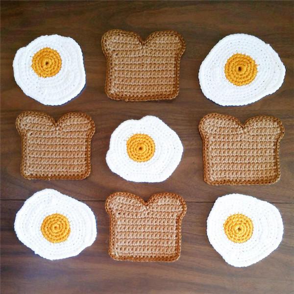 钩针早餐垫