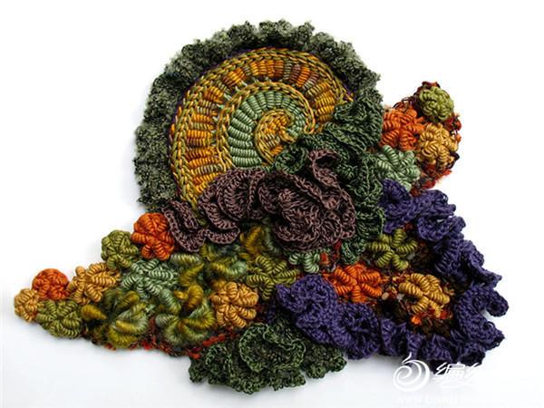 创意毛线编织花样