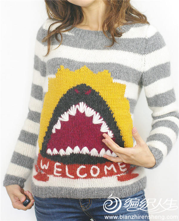 趣味编织棒针毛衣