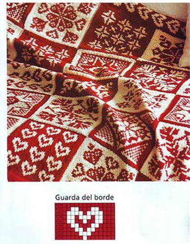 毯子花边花样