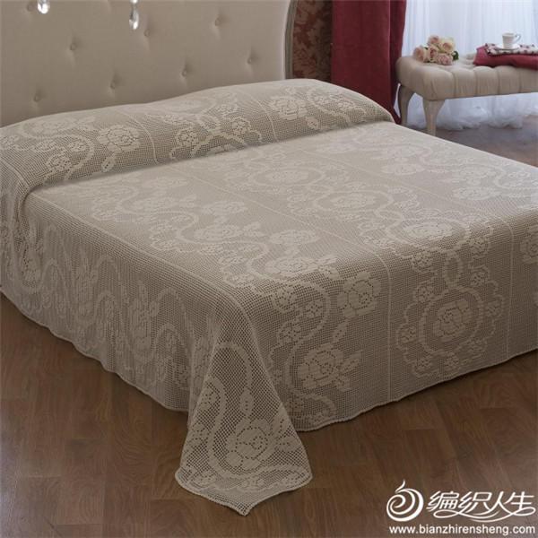羊毛蕾丝床罩