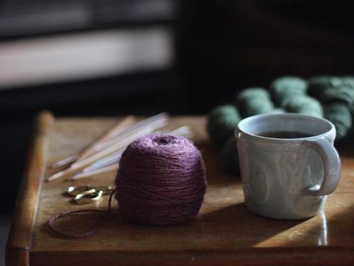 织毛衣的故事