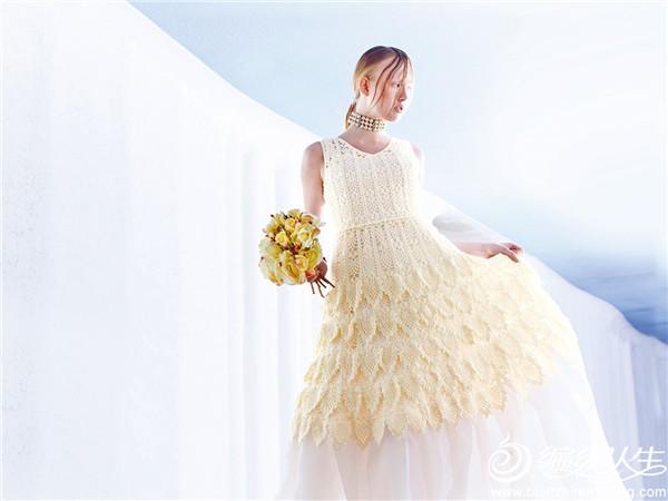天鹅湖钩针菠萝连衣裙