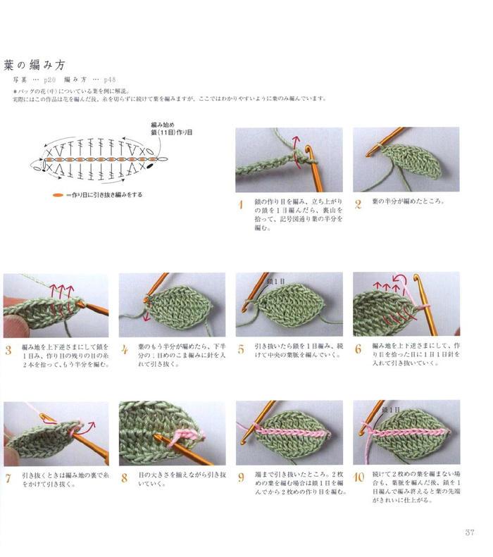 花团锦簇各年龄都适合的春夏麻线女士钩针帽子包包北京pk10信誉平台图解