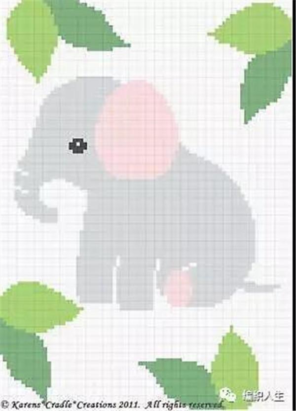 萌萌哒动物钩针毯子,绝对让你家宝宝爱不释手!(附图解