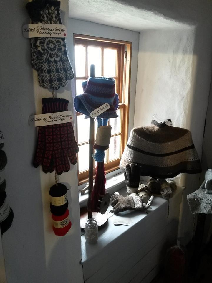设得兰纺织博物馆展品