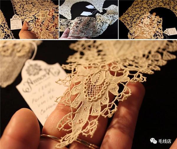 手工编织蕾丝钩花