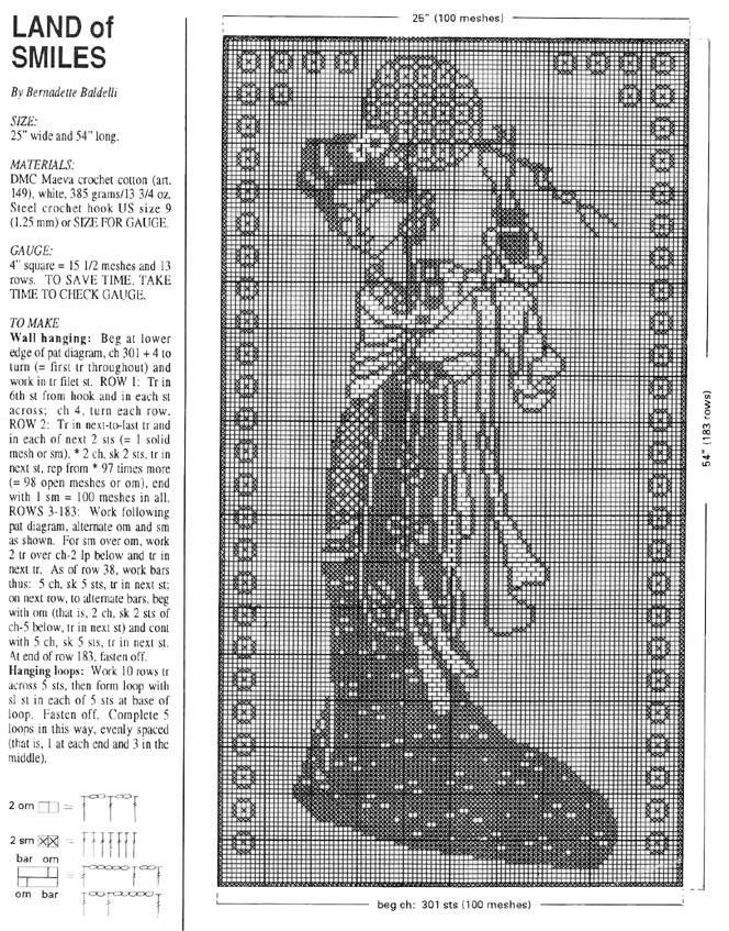 手中编织居家生活唯美装饰 十余款经典钩针方格编网眼蕾丝图案