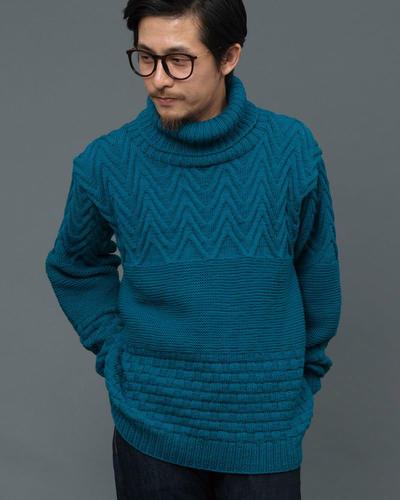 男士棒针毛衣款式