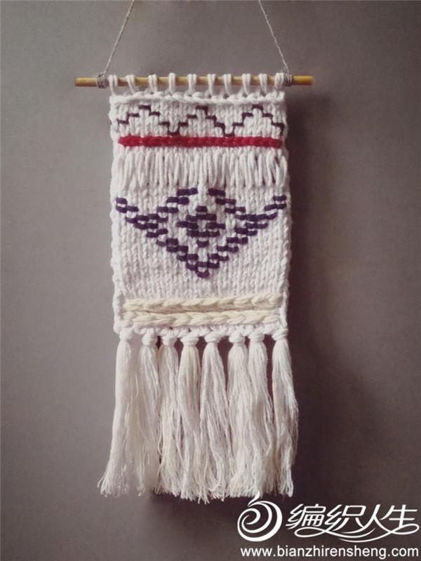 波西米亚风格棒针装饰