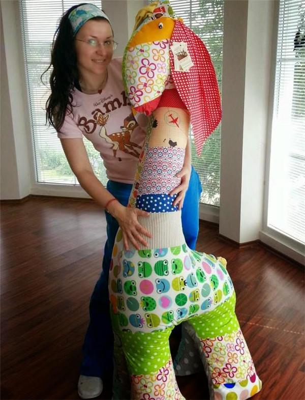 DIY巨型玩偶