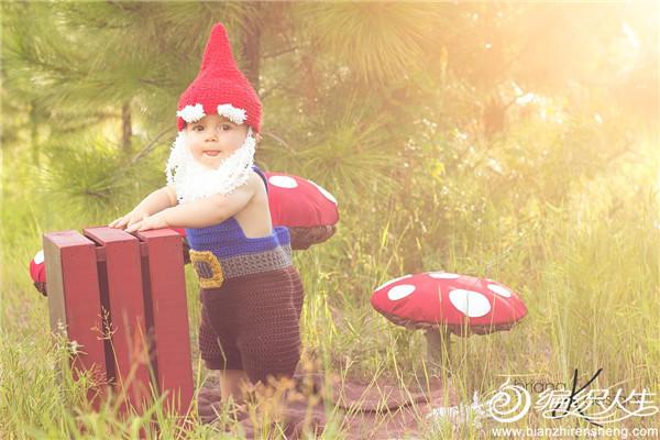 毛线编织森林小矮人服饰