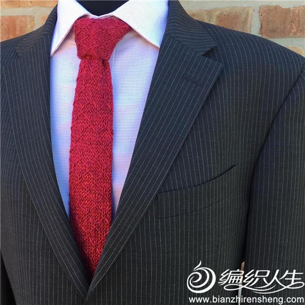 毛线编织领带