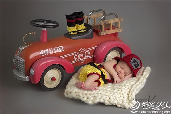 消防主题编织