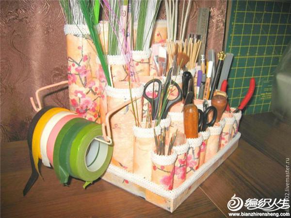 编织工具收纳DIY
