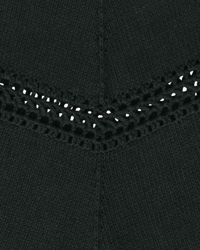 無需穿打底的鉤織結合炫酷女生流蘇短袖衫