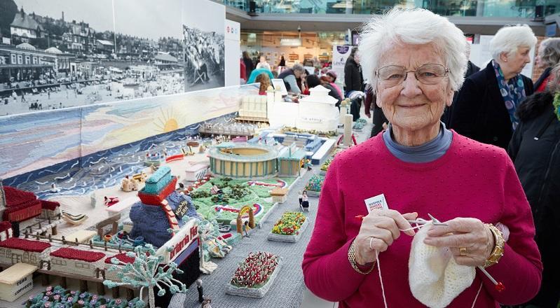 英国海滨小镇大雅茅斯的Margaret Seaman