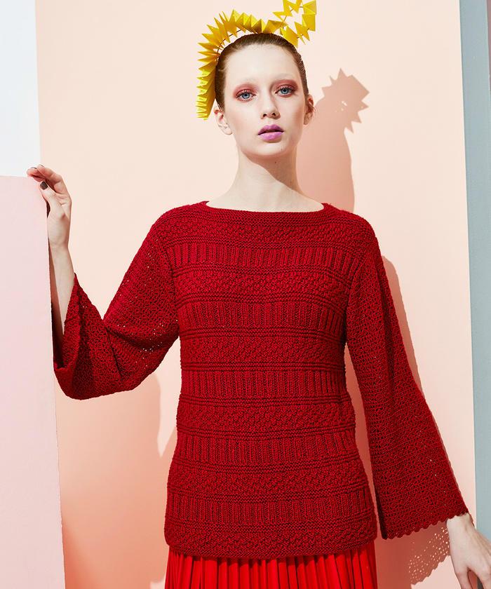 RICH MORE VOL135 2019秋冬系列款式欣赏 美丽而个性的针织毛衣