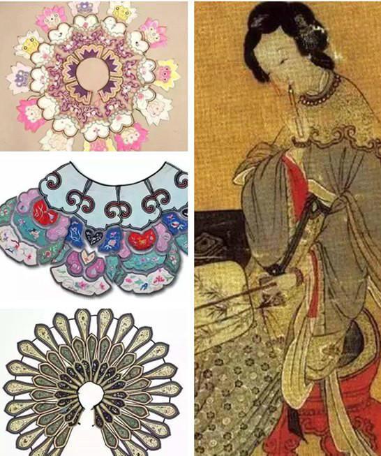 传统中国云肩纹样