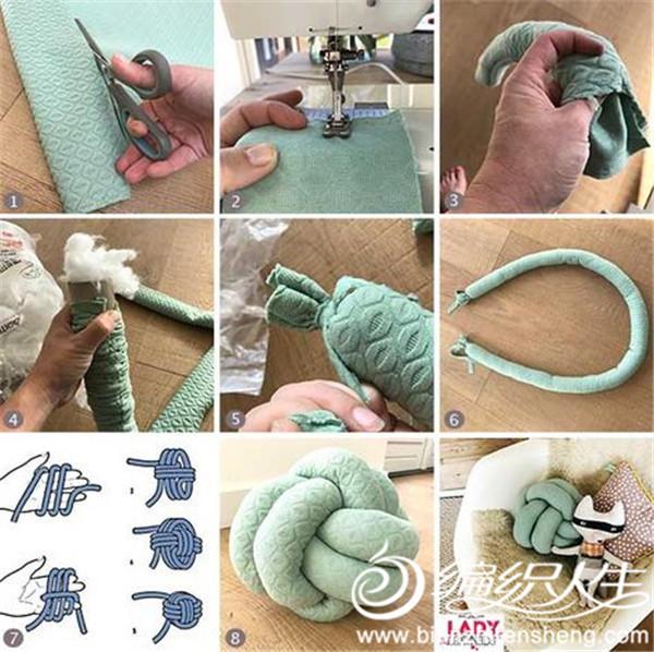 筒线抱枕制作