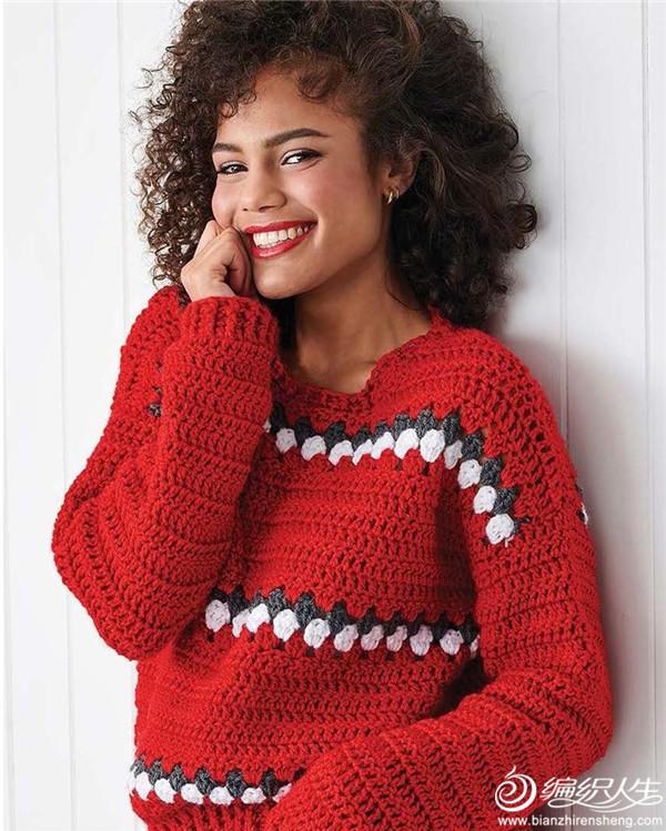 女士鉤針毛衣