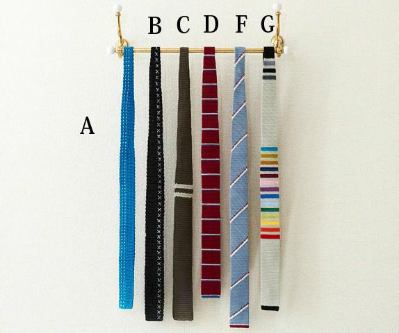 毛线编织钩针领带