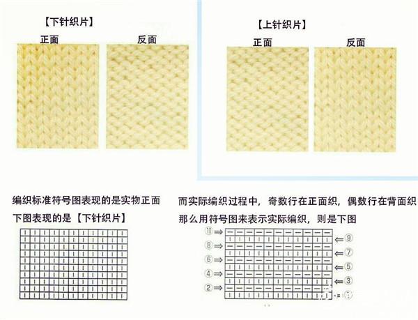 棒针编织图
