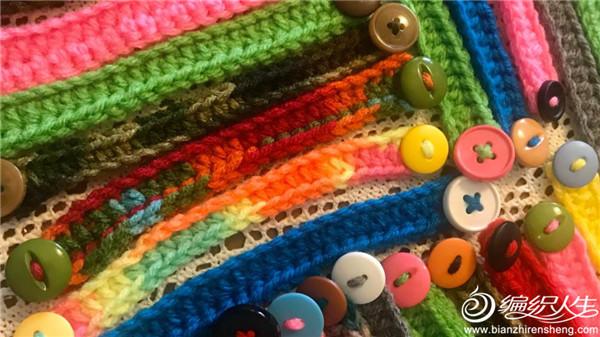 手工编织口罩带子