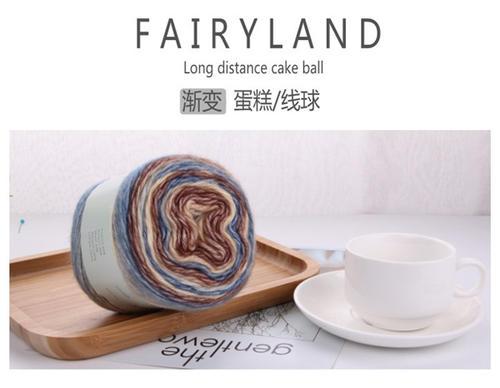 fairyland 渐变蛋糕线球