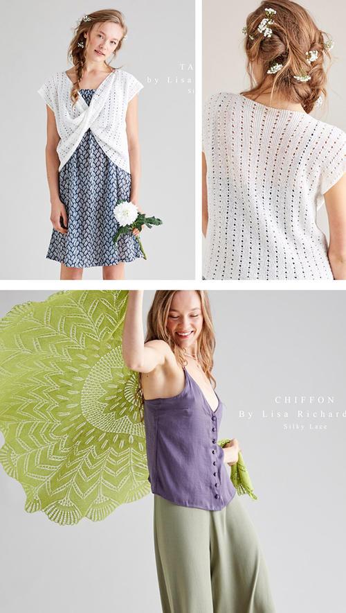 手工编织真丝棉蕾丝服饰