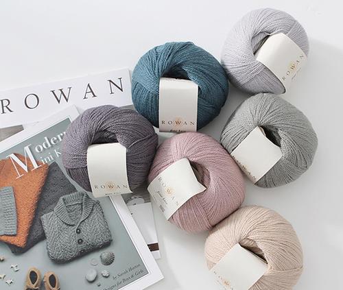 ROWAN Fine Lace羊驼羊毛蕾丝