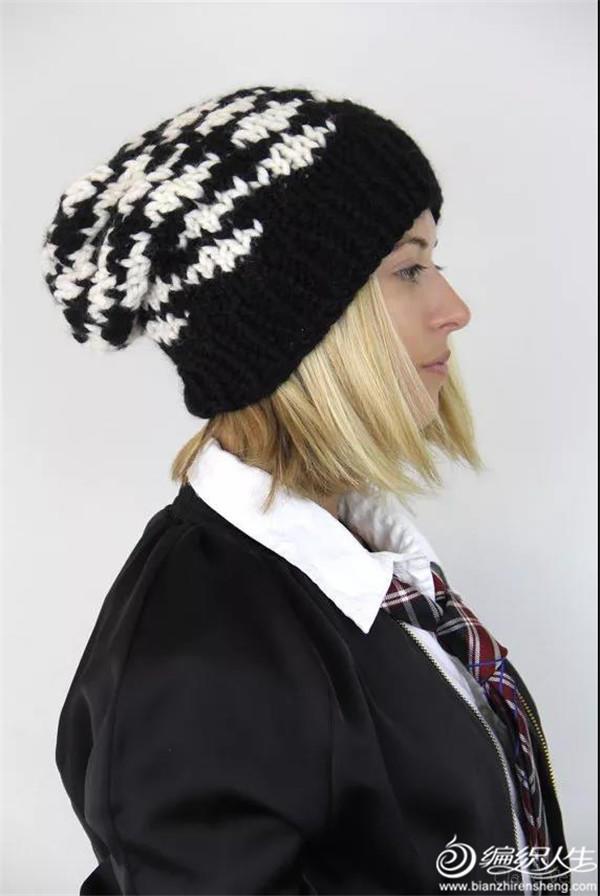 女士毛线帽款式