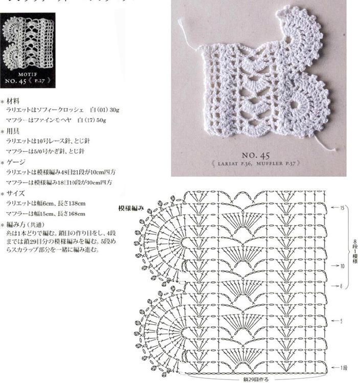 超好看的蕾丝钩针花边20款 衣饰点缀单独摆拍道具都可以