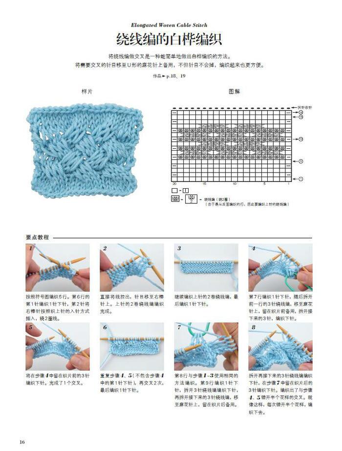 奇妙的棒针针法(让棒针编织更好玩)