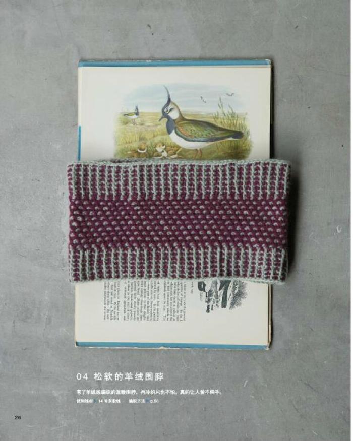 阿富汗针编织进阶教程(Tunisian crochet 丰富多彩的花样)