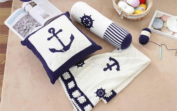 航海风钩针居家用品